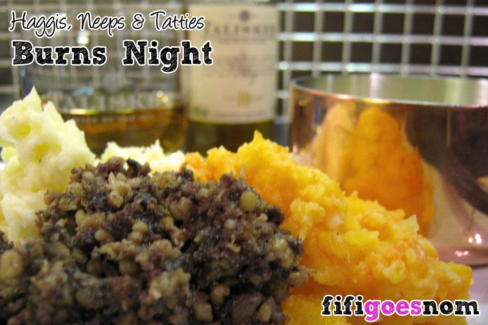Haggis, Neeps & Tatties | fifigoesnom