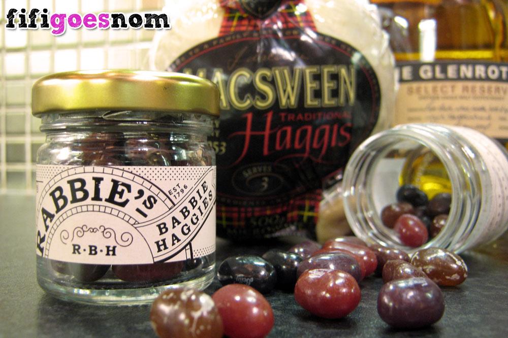 Haggis, savoury and sweet | fifigoesnom