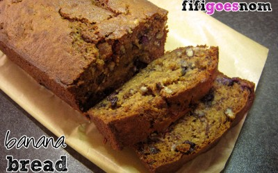 Hubby's Loaded Banana Bread