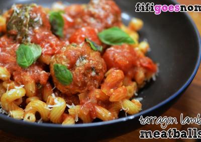 tarragon_lamb_meatballs