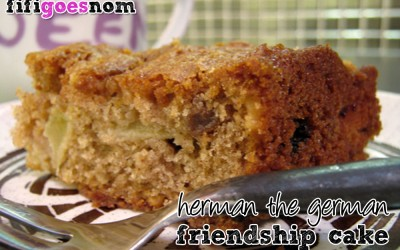 Herman, The German Friendship Cake
