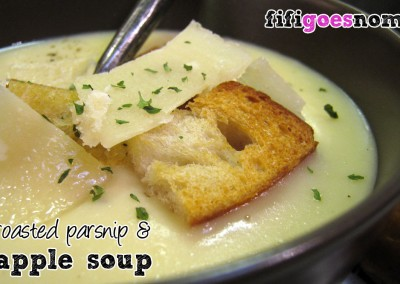 parsnipandapplesoup