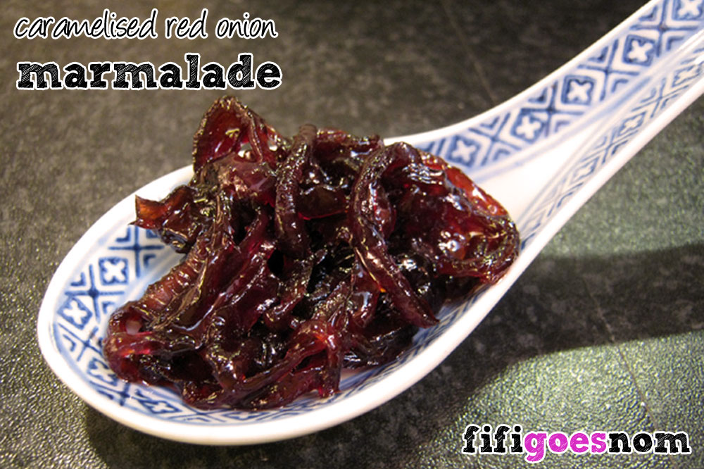 Caramelised Red Onion Marmalade
