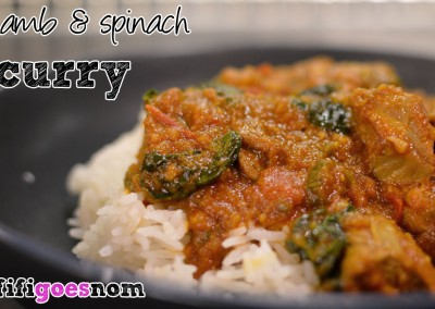 lambspinachcurry