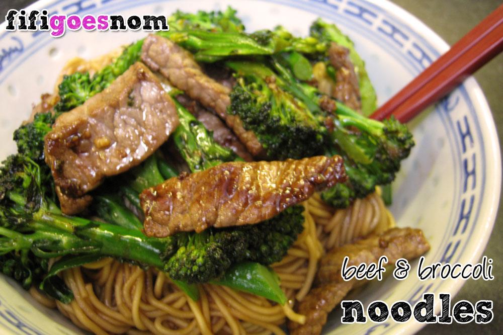 Beef & Broccoli Noodles