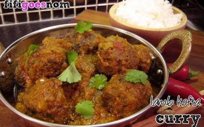 Lamb Kofta Curry