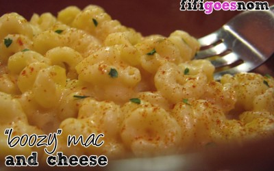 """Boozy"" Mac & Cheese"