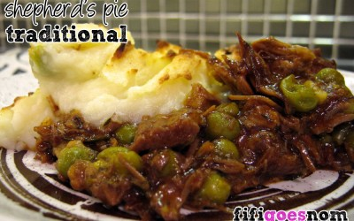 Shepherd's Pie Traditional Style
