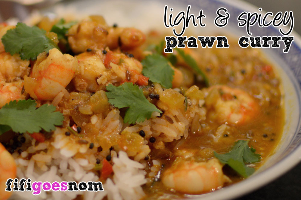 Light & Spicy Prawn Curry