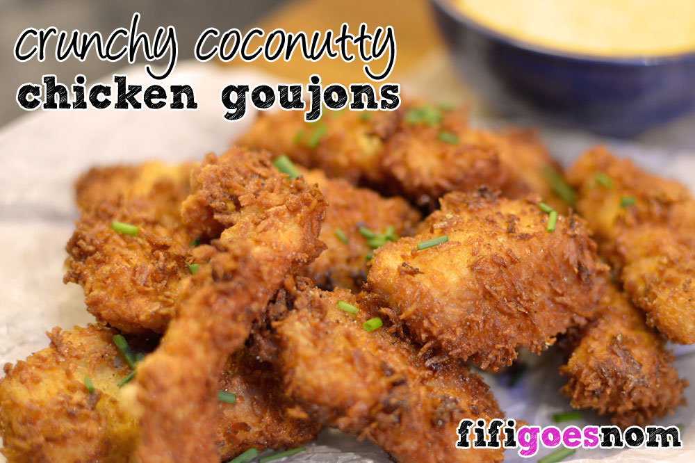 Crunchy Coconuty Chicken Goujons