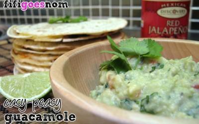 Easy-peasy Guacamole