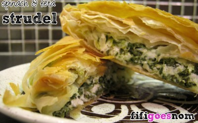 Spinach & Feta Strudels