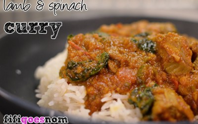 Lamb & Spinach Curry